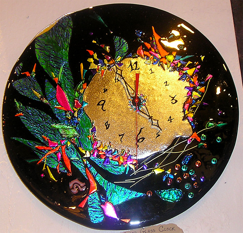1000 images about fused glass clocks on pinterest fused